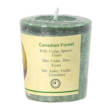 Vela Votiva Perfumada Bosque Canadiense 4,5x4cm