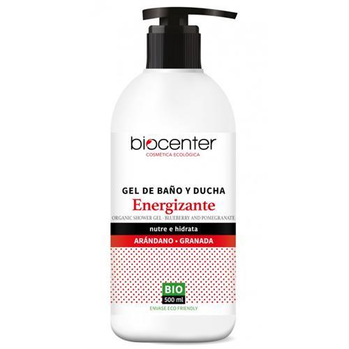 Gel de Baño y Ducha Energizante Arándano y Granada Biocenter TOP Bio 500ml