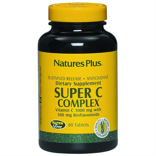 Super VItamina C Complex Natures Plus 60 comprimidos