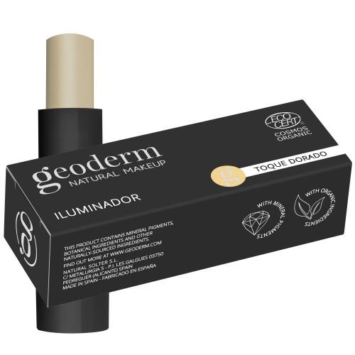 High Lighter Iluminador Dorado Golden Touch Bio Geoderm 4g