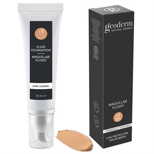 Makeup Maquillaje Fluido Caramelo Tostado Bio Geoderm 50ml