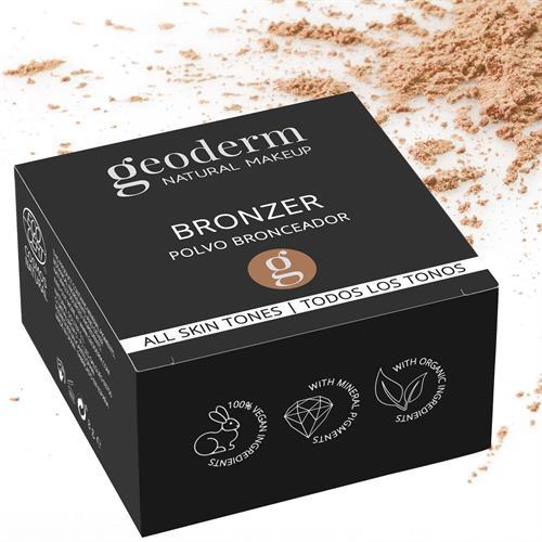 Bronceador Vegan Cosmos Natural Geoderm 8g