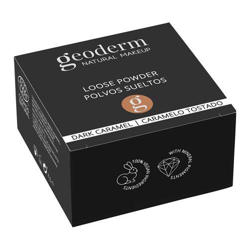 Polvos Sueltos Caramelo Tostado Vegan Cosmos Natural Geoderm 8g