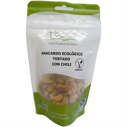 Anacardo Tostado con Chili Bio 100g
