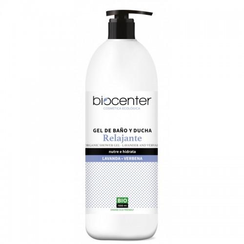 Gel de Baño y Ducha Relajante Lavanda y Vervena Biocenter Bio 1L