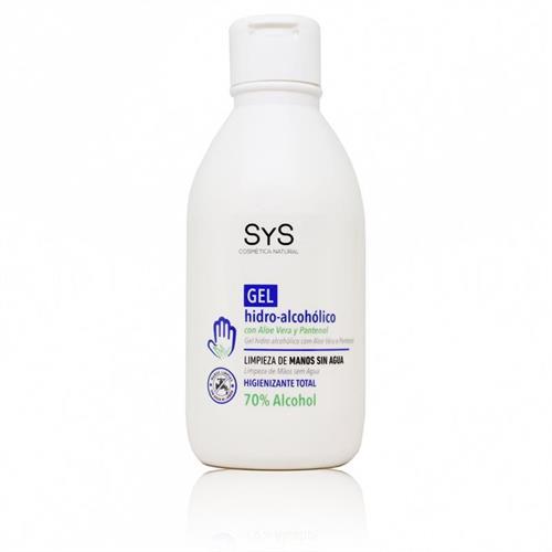Gel Hidroalcohólico con Aloe Vera SyS 250ml