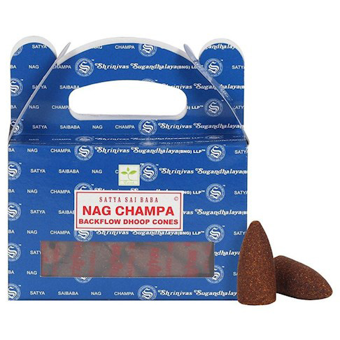 Conos de Incienso para Cascada Nag Champa 75g