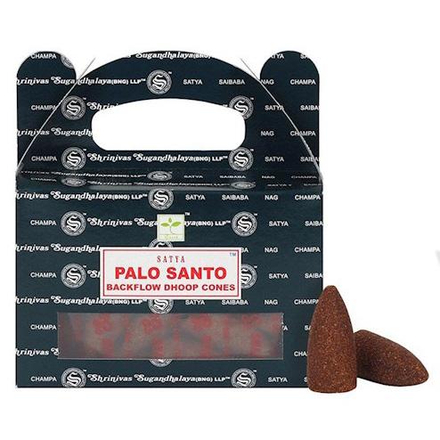 Conos de Incienso para Cascada Palo Santo 75g