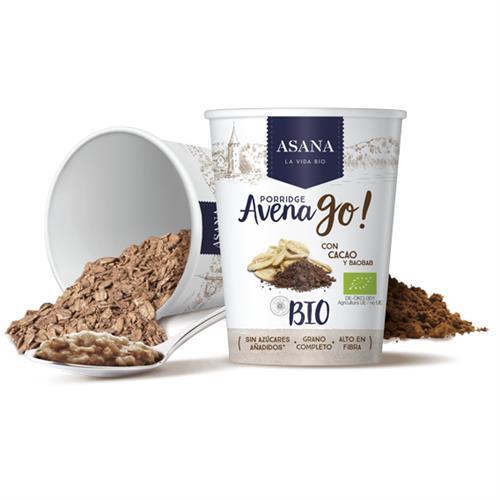 Porridge de Avena con Cacao y Baobab Bio 55g