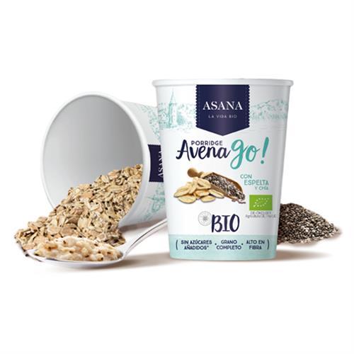Porridge de Avena con Espelta y Chía Bio 55g