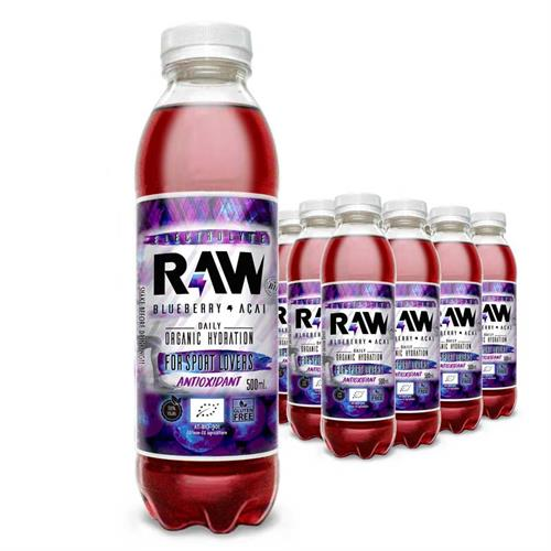 Raw Superdrink Arándano y Açaí Bio 500ml