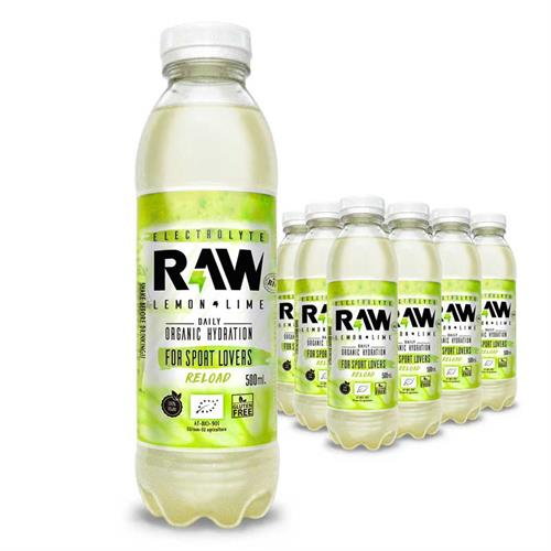 Raw Superdrink Limón y Lima Bio 500ml
