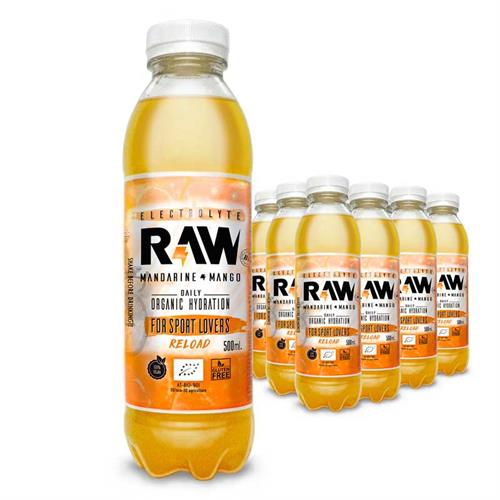 Raw Superdrink Mandarina y Mango Bio 500ml
