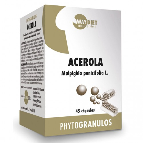 Acerola Vitamina C 45 Cápsulas