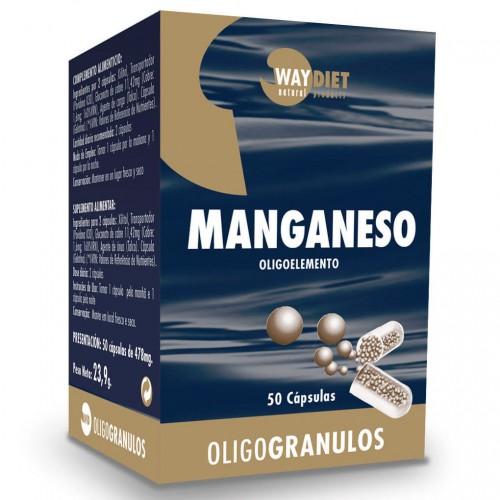 Manganeso Oligogránulos 50 Cápsulas
