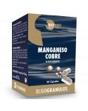 Manganeso y Cobre Oligogránulos 50 Cápsulas