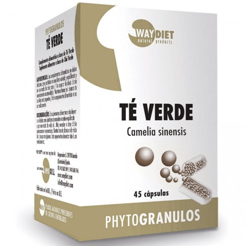 Té Verde Phytogránulos 45 cápsulas
