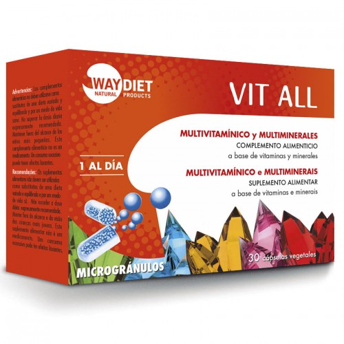 Vit All Multivitamínico 30 cápsulas