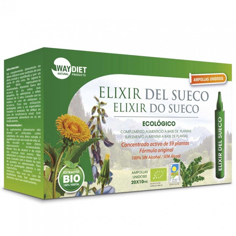 Elixir del Sueco WayDiet Bio 20 Ampollas