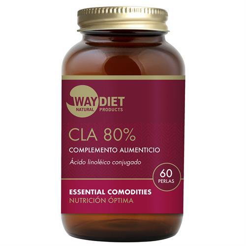 CLA 80 Ácido Linolenico Conjugado WayDiet 60 Perlas