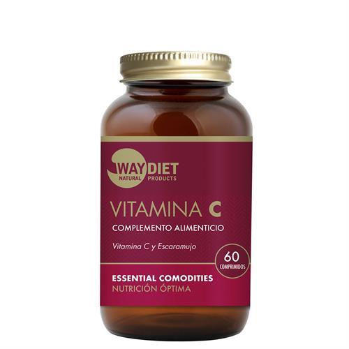 Vitamina C con Escaramujo WayDiet 60 Comprimidos