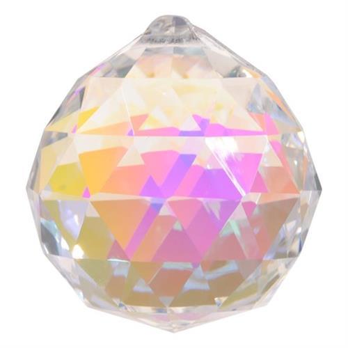 Cristal Arco Iris Bola Madreperla Grande 4cm