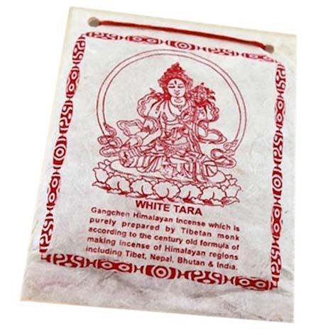 Incienso Tibetano en Polvo White Tara 40g