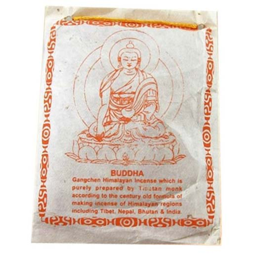 Incienso Tibetano en Polvo Buda 40g