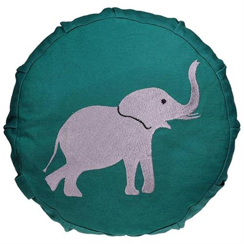 Cojín Zafu de Meditación para Niños Elefante 700g