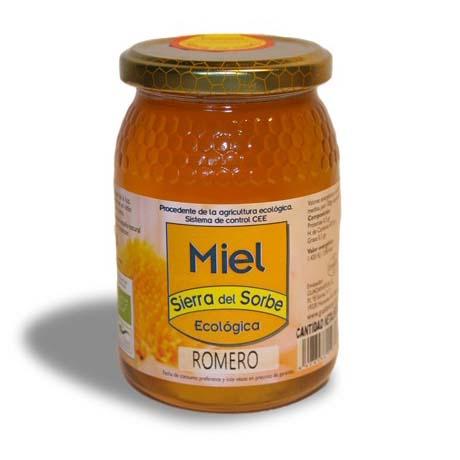 Miel de Romero Bio Sierra del Sorbe 500g
