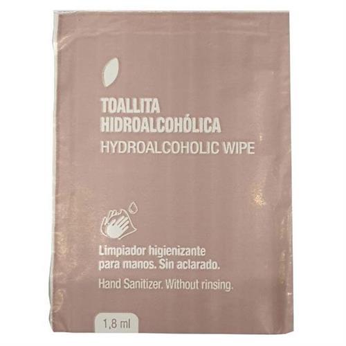 Toallita con Gel Hidroalcohólico 1,8ml