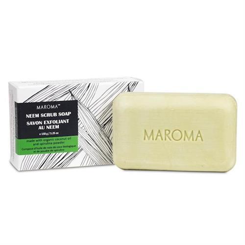 Jabón Exfoliante de Neem Comercio Justo Maroma 150g