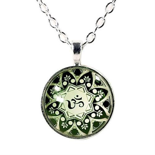 Collar Om Mandala 2,5cm