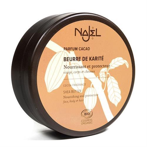 Manteca de Karité con Cacao Najel Bio 100g