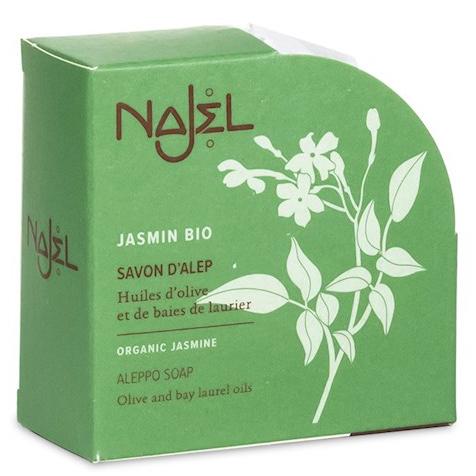 Jabón de Alepo con Jazmín Orgánico Najel 100g